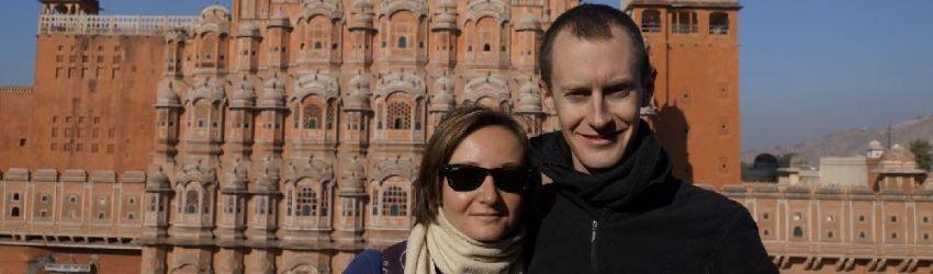 Hawa Mahal, Jaipur, Inde, le 22/01/2013