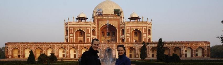 Humayun's Tomb, Delhi, Inde, le 24/01/2013