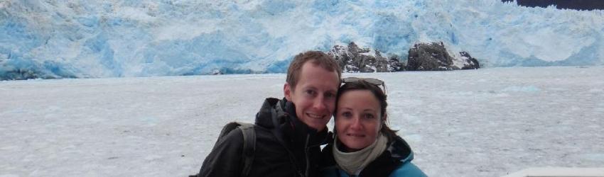 Glacier Pio XI, Champ de glace Sud, Patagonie, Chili, le 25/10/2013