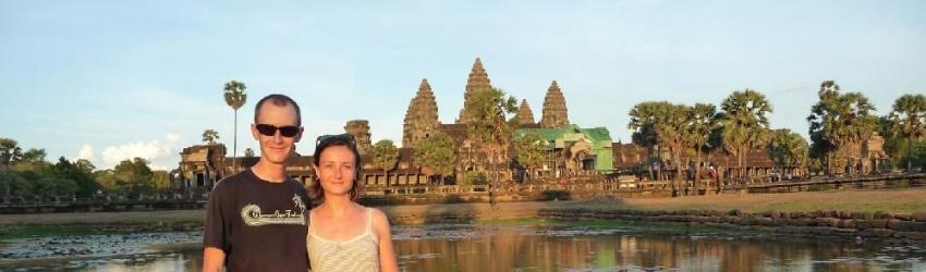 Angkor Vat, Siem Reap, Cambodge, le 18/04/2013