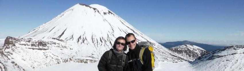 Tongariro Alpine Crossing, Nouvelle Zélande, le 22/07/2013