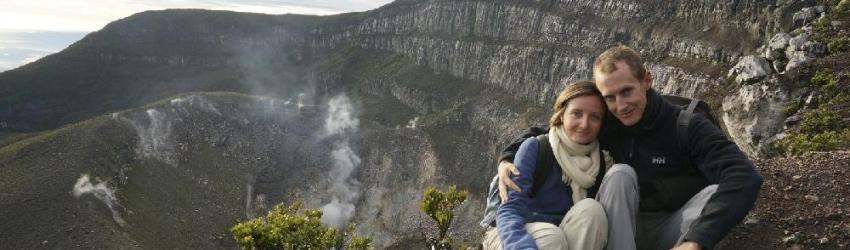 Ascension du Gunung Gede, Cianjur, Java, Indonésie, le 16/05/2013