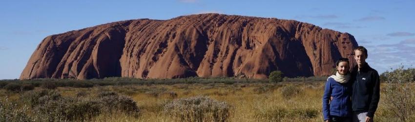 Uluru, Alice Springs, Australie, le 13/06/2013